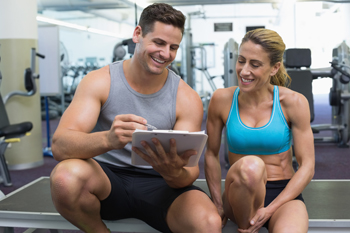 Two personal trainers, personal trainer for your investments
