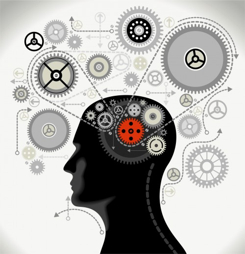 mechanical brain, thinking, how the mind works with investing