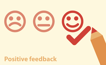 concept of positive feedback and how it will impact future of financial planning