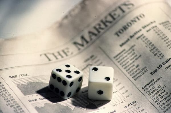 gambling on the investment market