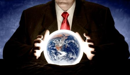 crystal ball trying to see into the future, can you predict the investment markets future